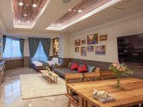 リビング、ダイニング、ベッドルームが一つになった45平米の豪華なお部屋