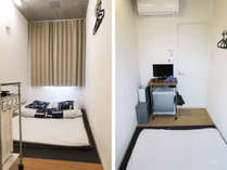 和室ダブルルームはダブルサイズの布団ひと組をご用意した2名様用のお部屋です。
