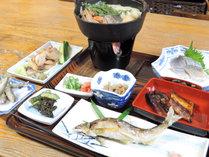 【通常】豊かな緑と鮎料理!清流綾川の水で育った新鮮な鮎を堪能