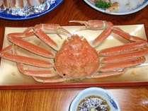 【ふるさと割】期間限定★豪快★舟盛付き活魚料理にド~ンとゆで蟹1杯つけちゃいましたプラン