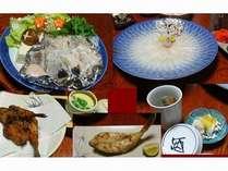 【冬の味覚★若狭ふぐフルコース料理】
