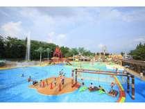 【恵那峡ワンダーランド】お子様歓迎!家族で夏休みに遊園地&プールに遊びに行こう!《1泊2食付プラン》