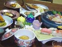 地元の食材をふんだんに使った「神威膳」(画像はイメージです)