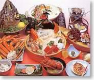 宿1番人気こだわり金目鯛の煮付け+水軍海賊盛り!伊勢えびに鮑の踊り焼き駿河湾の幸を食べ尽くし
