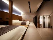 ・【2階ベッドルーム】 温かみのある照明でリラックス空間