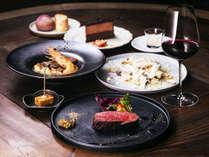 """【 the LOUNGE-ディナー 】開放的な """"街のリビング"""" で、上州食材をカジュアルに楽しむ"""
