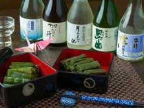 地酒と味わう糸魚川の伝統料理『独活』と『うど蕗』の田舎煮