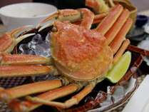 紅ズワイ蟹を丸ごと一匹