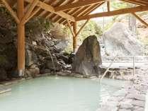 石庭露天風呂「早蕨(さわらび)の湯」