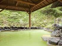 石庭露天風呂「白滝(しらたき)の湯」