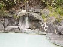 石庭露天風呂「琥珀(こはく)の湯」