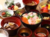【朝食】味めぐり横丁~ご当地一品と彩り朝食~ ブッフェ一例