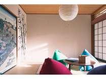 【和室/8畳】8畳タイプのお部屋は最大4名様までご利用可能です