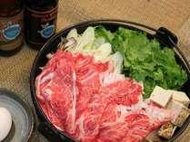 ゲレンデ真ん中で、信州和牛のすき焼きを召し上がれ。