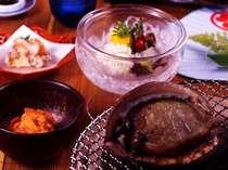 伊勢志摩夏の3大味覚プラン(赤ウニとアワビ、穴子)【特典:手作りで人気の「かあさまおにぎり」♪】
