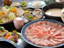 【鍋会席】~シーズン到来~ 牛・豚・猪が選べる☆みんなでわいわい味わい鍋プラン