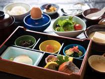 【朝食】一日のスタートは美味しい朝ごはんでスタート!