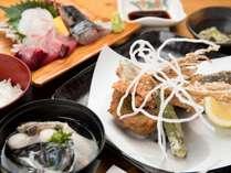 *【粟穂定食】首折れサバにトビウオ。屋久島の美味しいポイントはしっかりつかんでます♪