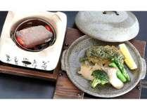 【別注料理】鮑のステーキ鮑の肝ソースで海の味丸ごとどうぞ