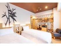 ◆スタンダードツイン(20.03平米)◆エアウィーヴのベッドマットレスを全室に採用!
