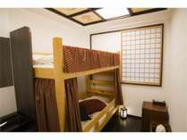 Room101 2段ベッドが1台あり、最大2名様まで宿泊出来ます。