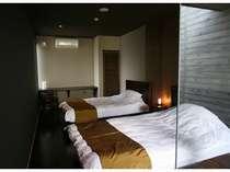四之庄 寝室  (ツインベッド)
