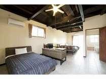 落ち着きのある家具がリゾート感をアップ