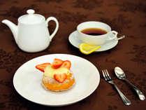 【50歳以上の方限定】レストランから始まるAfternoon tea♪ケーキ付/チェックイン13時