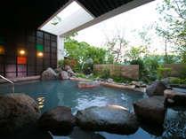 【宿泊者専用露天風呂】自然豊かな景色を眺めながら別府の天然温泉をご堪能くださいませ