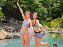 【瀧の杜湯】水着着用の温泉で開放感と良質な温泉をお楽しみください☆