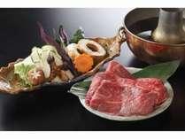 【WEB限定】特選和牛ロース肉と地産加賀野菜のしゃぶしゃぶ付きプラン☆☆(2018年4月~)