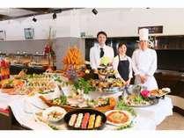 6F展望レストラン、四季折々の料理をそろえてお待ちしております。