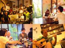 日本全国、そして世界からも様々なゲストさんが訪れます!