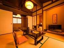 客室露天風呂・内湯付き和室