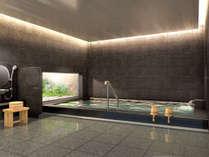 【大浴場】ビジネス・観光の疲れを癒します。