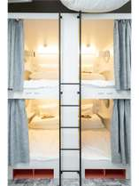 ベッド内には、世界にひとつだけのユーモラスなイラストも160点以上あります