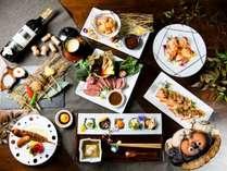 和食がベースのフュージョン料理 有田焼と古伊万里の器でお楽しみください