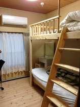 洋室・2段ベッド(5号室)
