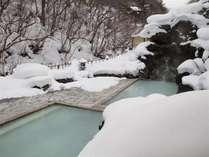 高湯温泉(福島市:冬) ※提供:うつくしま観光プロモーション推進機構