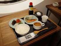 1日の始まりは朝食から!(和食取り分けイメージ)