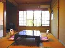 落ち着いた和室でひと休み