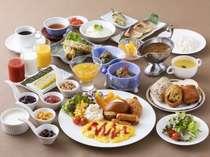 <朝食バイキング>和洋メニュー 郷土料理や定番朝食メニューまで多数ご用意