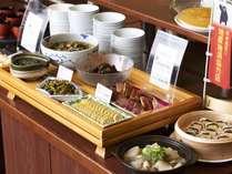 <朝食バイキング>【熊本郷土料理】充実した郷土料理コーナー
