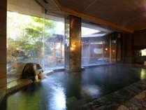 【象山の湯】上山田源泉と千曲源泉の混合泉を贅沢に掛け流しております。