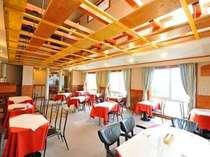 眺めも良く開放感のあるレストラン
