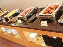 【朝食バイキング】彩とりどりの朝食