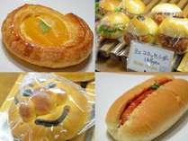 山茶花(さざんか)のパンが買えるチケット付きプラン