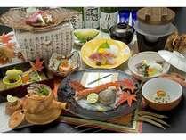 四季彩会席(宝楽会席)9月-11月限定のお食事プランです。