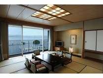 和室 琵琶湖を一望していただけます