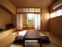 和室8畳 川沿いの2階のお部屋で絶景です  あやめ。